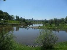 Une belle vue de Québec à partir de l'Anse à Cartier ...