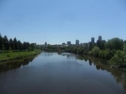 J'aime beaucoup cette vue sur Québec ...