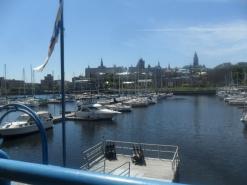 C'est vrai, la plus jolie vue sur Québec - en dehors de Lévis -...