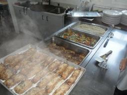 Poulet à la grecque et saumon tériyaki, sur la ligne de départ...