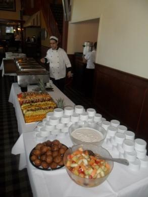 Le buffet ...