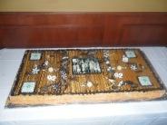 Le gâteau du 92ème anniversaire du Golg de Lorette ...