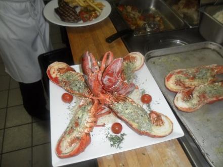 Un client qui aime vraiment le homard !