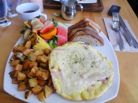 Omelette Lorraine ...