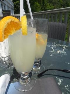 Deux petites limonades pour commencer ...