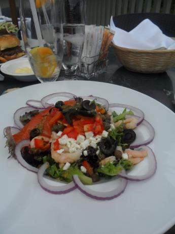 Ma salade gourmande ...