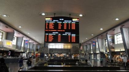 En gare de Montréal
