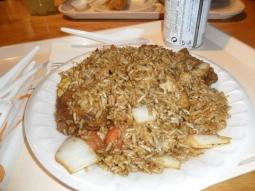 Un riz au poisson