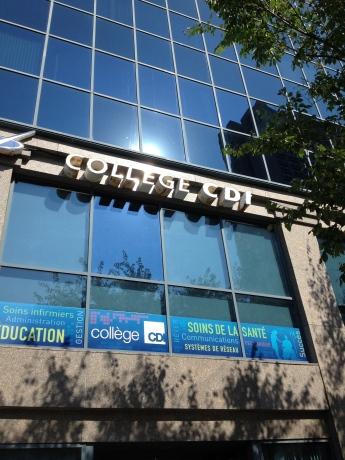 Le collège CDI, boulevard Honoré Mercier