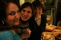 Claudia, Sophie et Valérie ...