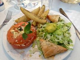 AssietteVégé grecque
