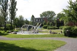 Un parc d'été pour les enfants
