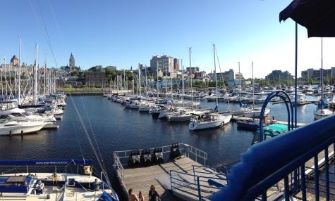 Vue sur Québec