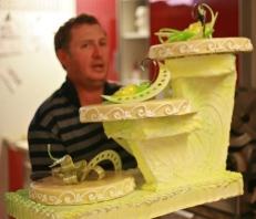 Gâteau de mariage, transport !
