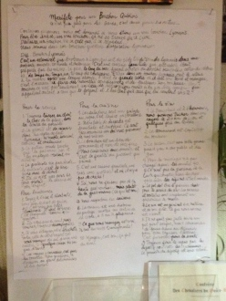 Manifeste du Bouchon