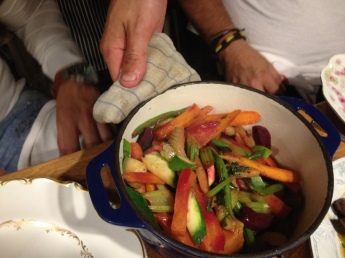 poêlon de légumes