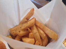 Bonnes frites, même pas trop salées !