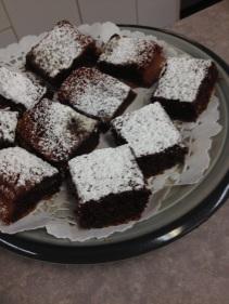 Des brownies sans farine