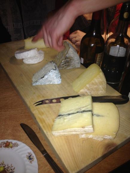 Plateau de fromages du Québec