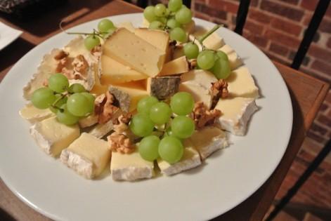 Une sélection de fromages