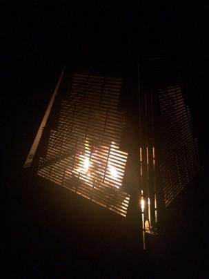 Petit feu de fin de soirée