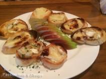 Croûtons au camembert