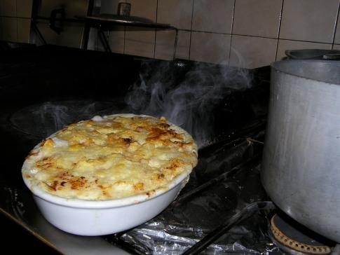 Dans la cuisine des Darbelets à Megève