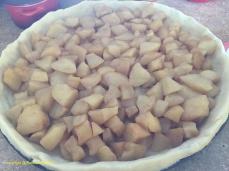 Placer les pommes