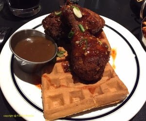 Le fameux « chicken n' waffle »